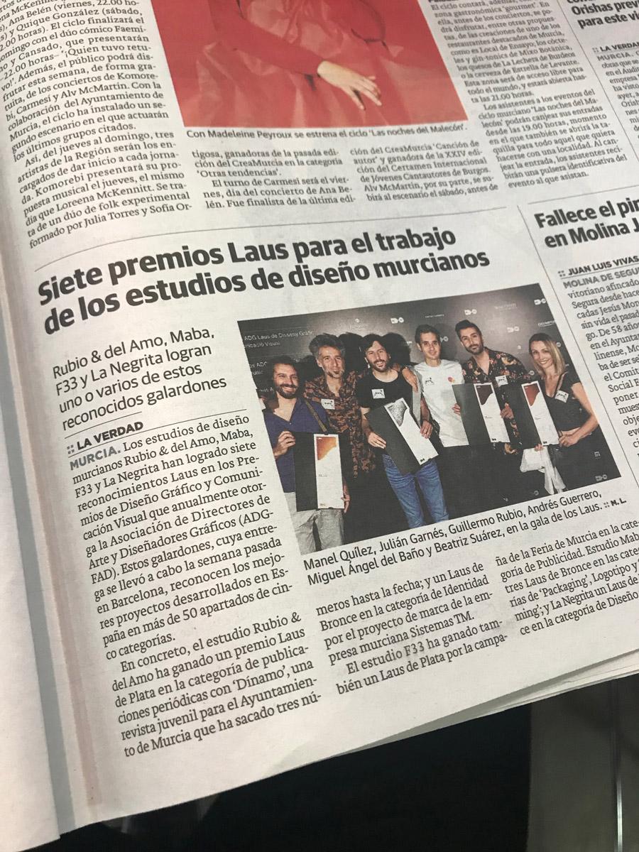 noticia LAUS 27